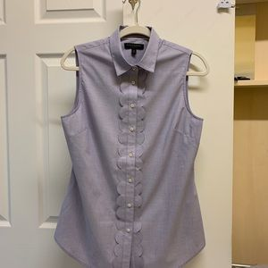 "Banana Republic sleeveless ""Riley"" blouse Size 8"